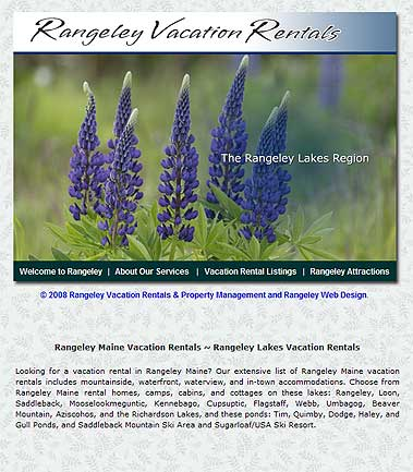 Rangeley Vacation Rentals by Agency