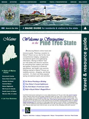 State of Maine Resource Guide